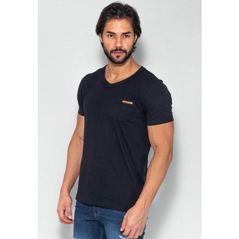 Camiseta Masculina Revanche Carlos Preto