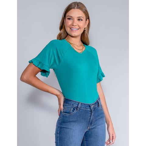 Blusa Feminina Revanche Lea Verde Frente