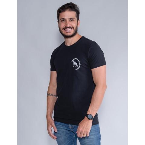 Camiseta Masculina Revanche Murilo Preto Frente