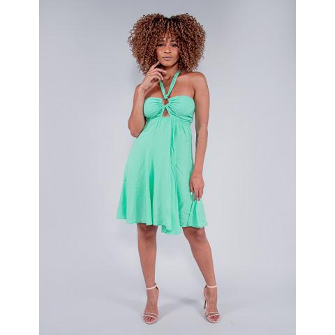Vestido Feminino Revanche Celina Verde Frente