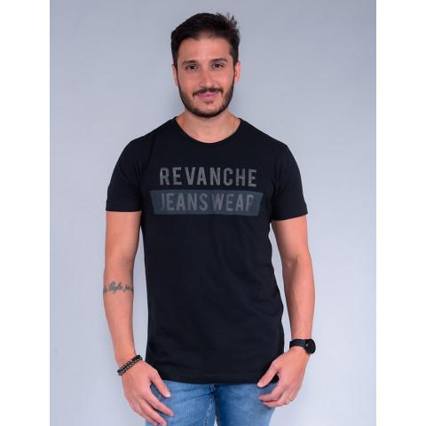 Camiseta Masculina Revanche Osmar Preto Frente