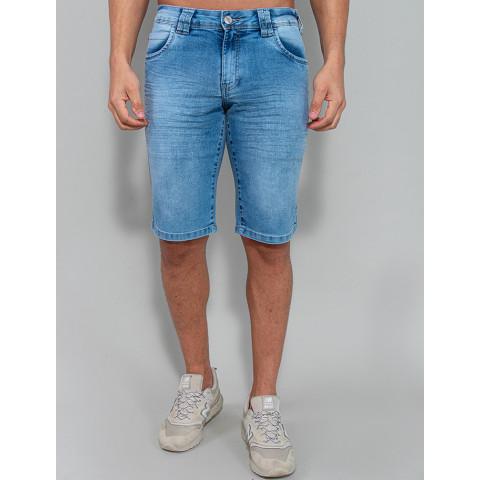 Bermuda Jeans Masculina Revanche Philippe Azul