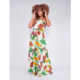 Vestido Feminino Revanche Maurizia Bege