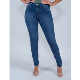 Calça Jeans Cigarrete Feminina Revanche Isidora Azul