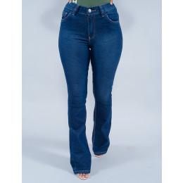Calça Jeans Flare Feminina Revanche Charlotte Azul