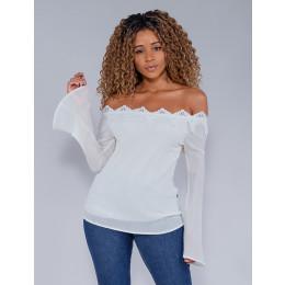 Blusa Feminina Revanche Vera Off-White