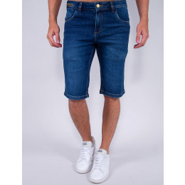 Bermuda Jeans Masculina Revanche Mirko Azul