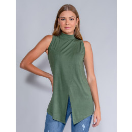 Blusa Feminina Revanche Yolanda Verde Escuro