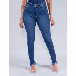 Calça Jeans Cigarrete Feminina Revanche Irina Azul