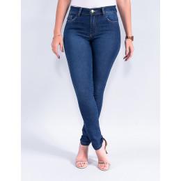 Calça Jeans Cigarrete Feminina Revanche Mavi Azul