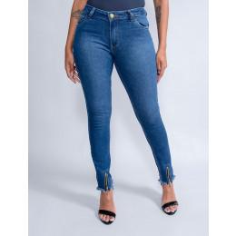 Calça Jeans Cigarrete Feminina Revanche Nicole Azul