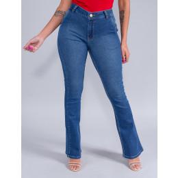 Calça Jeans Flare Feminina Revanche Megan Azul