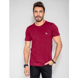 Camiseta Basica Masculino Revanche Foggia Vinho