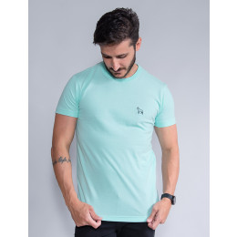 Camiseta Basica Masculino Revanche Foggia  Verde Menta