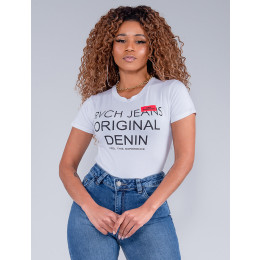 Camiseta Feminina Revanche Ellie Branco