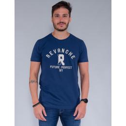 Camiseta Masculina Revanche Oscar Azul Marinho