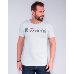 Camiseta Masculino Revanche Belarmino  Mescla