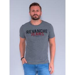 Camiseta Masculino Revanche Galio Grafite