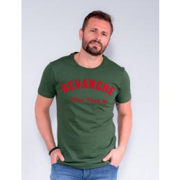Camiseta Masculino Revanche Otto Verde