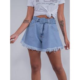 Shorts Jeans Godê Feminino Revanche Aline Azul