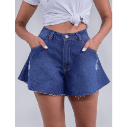 Shorts Jeans Godê Feminino Revanche Celia Azul