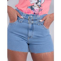 Shorts Jeans Atacado Feminino Revanche Cristine Azul