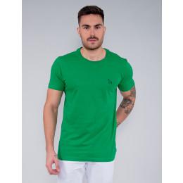Camiseta Básica Masculino Revanche Foggia Verde Claro