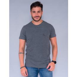Camiseta Básica Masculino Revanche Foggia  Grafite