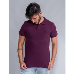 Camisa Polo Masculina Revanche Destry Violeta