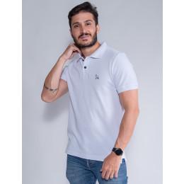 Camisa Polo Masculina Revanche Destry Branco