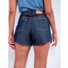 Shorts Jeans Feminino Revanche Rebeca Azul Detalhe Costas